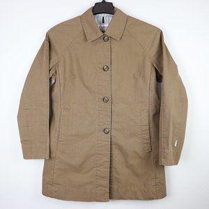 Women's Columbia Light Brown Pea Coat Jacket